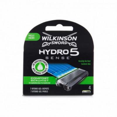 Wilkinson Sword Hydro 5 Sense Comfort peiliukai 4 vnt. rinkinys