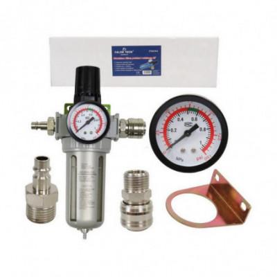 Oro srauto reguliatorius 1/2 su filtru ir monometru