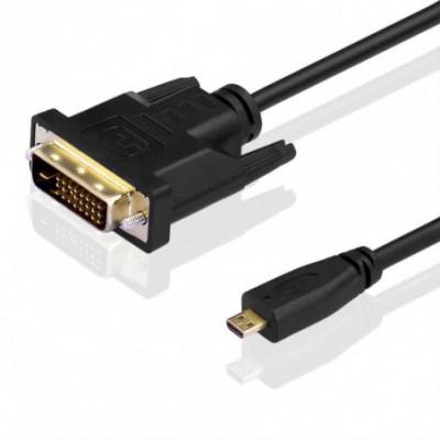 Micro HDMI į Dvi-d 24 kabelis