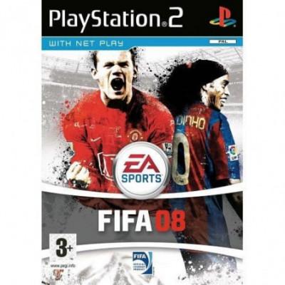 FIFA 08 PS2 žaidimas