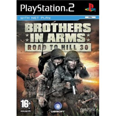 Brothers in Arms Road to Hill 30 PS2 žaidimas