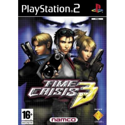 Time Crisis 3 PS2 žaidimas