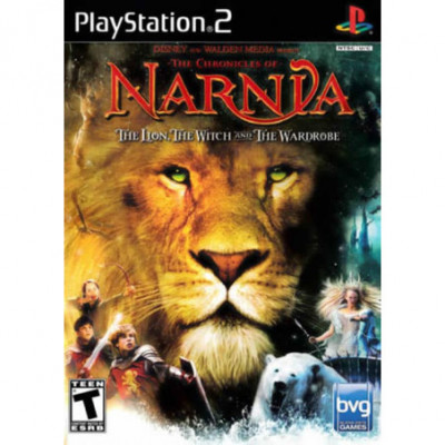 The Chronicles of Narnia The Lion, The Witch and The Wardrobe PS2 žaidimas