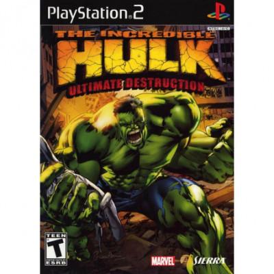 The Incredible Hulk PS2 žaidimas