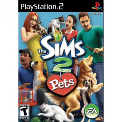 The Sims 2 Pets PS2 žaidimas