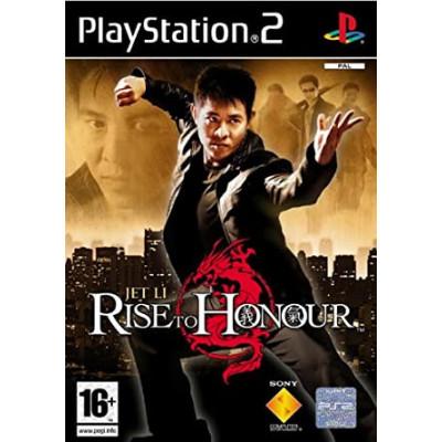 Rise to Honour PS2 žaidimas