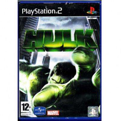 The Hulk PS2 žaidimas