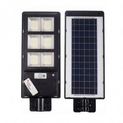 Led lauko šviestuvas / žibintas su saulės baterija 100W / 200W / 300W