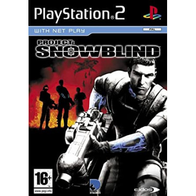 Project: Snowblind PS2 žaidimas