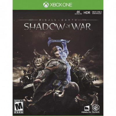 Middle Earth Shadow of War Xbox One žaidimas