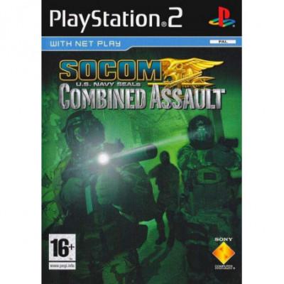 Socom U.S. Navy SREALs: Combined Assault PS2 žaidimas