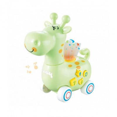 Žaislinis ir interaktyvus gyvūnas vaikams Žirafa