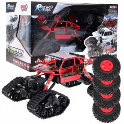 """RC vikšrinė mašina """"4 x 4 - važiuokite net per sniegą!"""