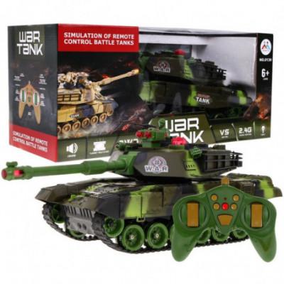 Nuotoliniu būdu valdomas 45cm dydžio tankas!
