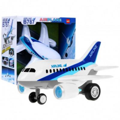 Didelis vaikiškas lėktuvas su garsais - Boeing