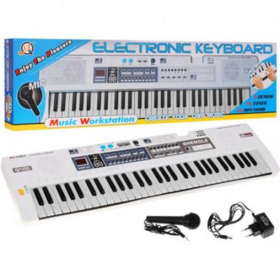 Daugiafunkcinis sintezatorius su mikrofonu ir MP3