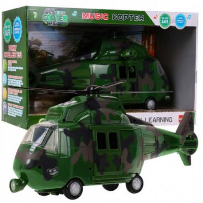 Žaislinis Malunsparnis / Sraigtasparnis - karinis
