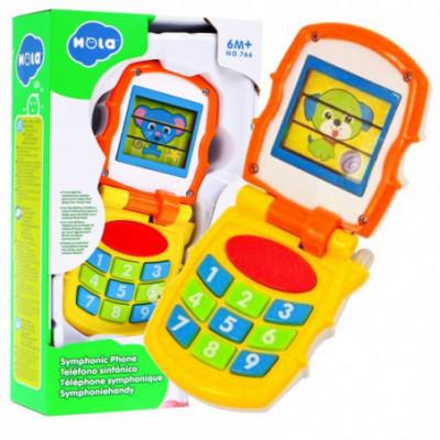 Interaktyvus - vaikiškas mobilusis telefonas