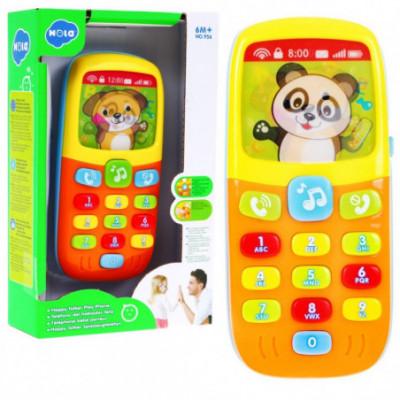Interaktyvus vaikiškas mobilusis telefonas