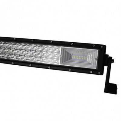 Auto LED Bar 600W lenktas, žibintas atsparus vandeniui