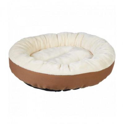 Šuns gultas - guolis, 50 x 50 x 15 cm. Kreminė, ruda