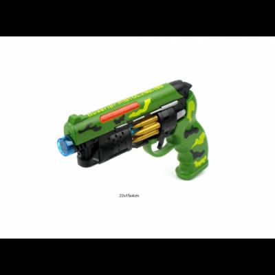 Pistoletas skleidžiantis šviesas ir garsus su lazeriuku!