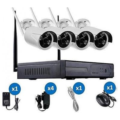 Lauko / Vidaus Wifi vaizdo stebėjimo kamerų sistema HD