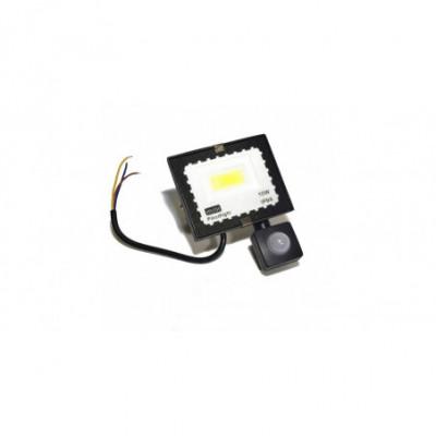 10W LED prožektorius su judesio davikliu 6500K