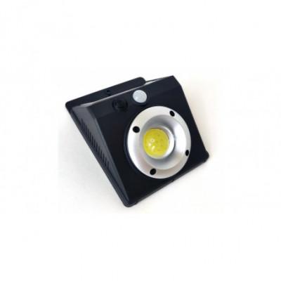 Saulės baterijos LED šviestuvas su judesio davikliu