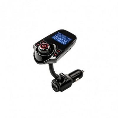 Bluetooth FM radijo bangų moduliatorius (lankstomas)