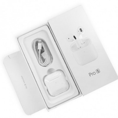 Belaidės Ausinės Pro 5 Touch control Bluetooth 5.2
