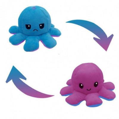 Pliušinis dvipusis aštunkojis Tik Tok - Octopus