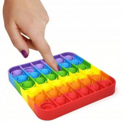 NAUJIENA! Push Pop it Bubble antistresinis silikoninis žaislas