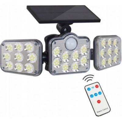 Ypatingai ryškus LED prožektorius su judesio davikliu 6500K