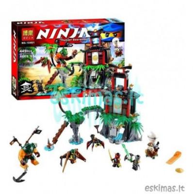 Lego Ninjago - Tvirtovė ant kalno [analogas]