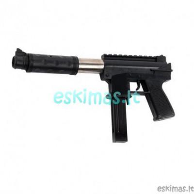 UZI - Žaislinis ginklas šaudantis 6mm kulkomis