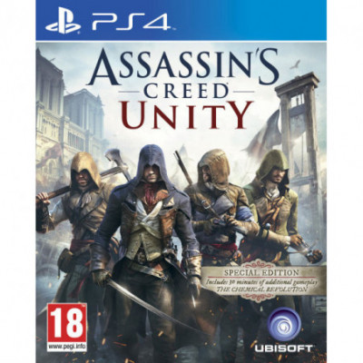 PS4 Assassins Creed Unity Special Edition