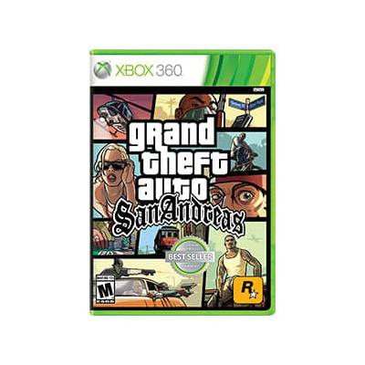 XBOX 360 Grand Theft Auto San Andreas Classics