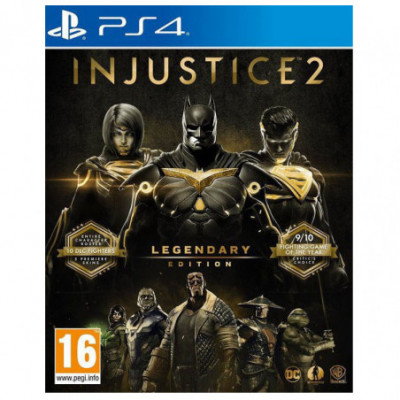 PS4 Injustice 2 Legendary Edition (G)