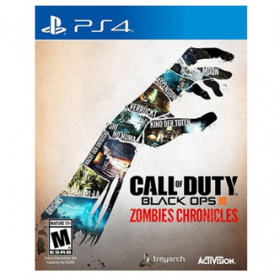 PS4 Call Of Duty Black Ops III Zombies Chronicles (G)