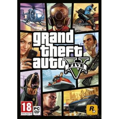 PS4 Grand Theft Auto V (g)