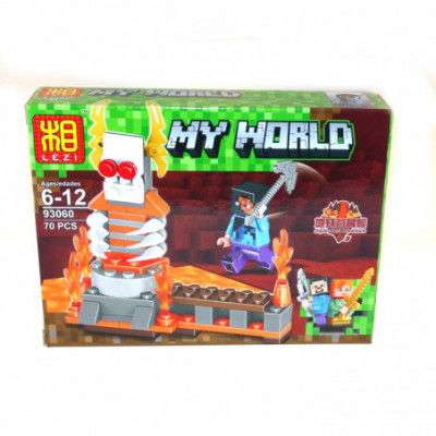 My world - Lego Minecraft analogas 93060D