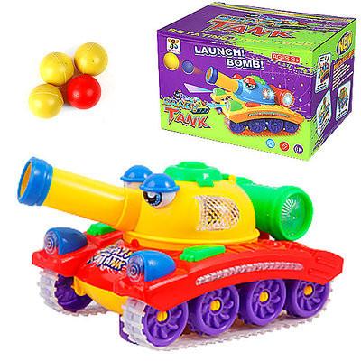 Žaislinis tankas Crazy Tank
