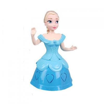 Plastikinė besisukanti princesė Frozen tematika