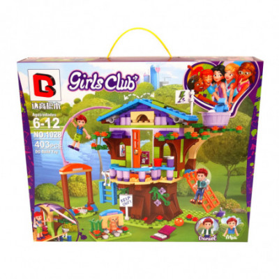DG Girls Club - Namelis medyje - Lego Friends [analogas]