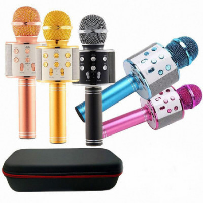 Karaoke bluetooth mikrofonas Wster 858