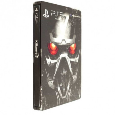 PS3 Killzone 3 Stealbook edition
