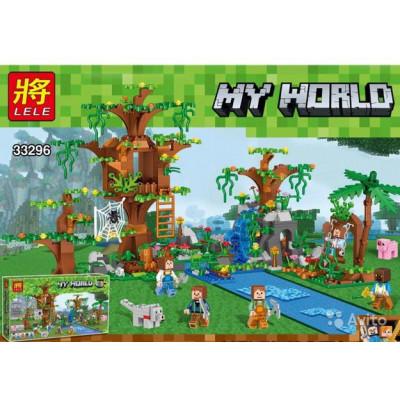 Lego Minecraft - Džiunglių medis [analogas]