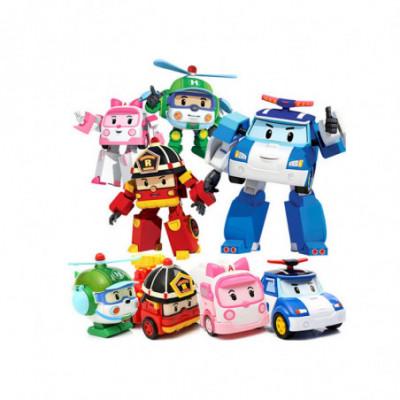 Transformuojamas robotas - mašina Robocar Poli