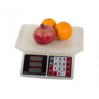 Prekybinės svarstyklės / prekybinės / elektroninės 40kg